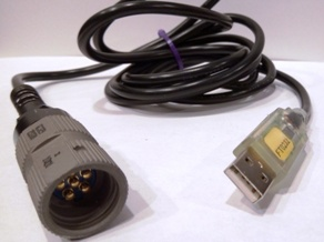 DS-101/232 simulator cable